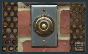 Doorbell overcoming the doormat